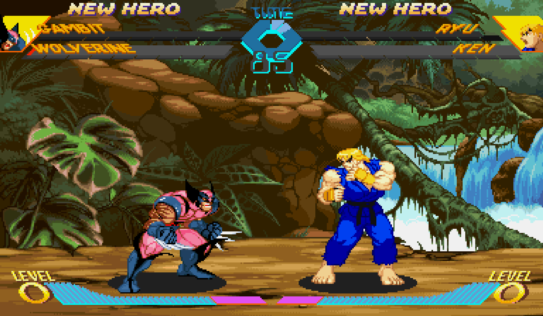 Nuevo tema para X-MEN VS STREET FIGHTER en FIGHTCADE!