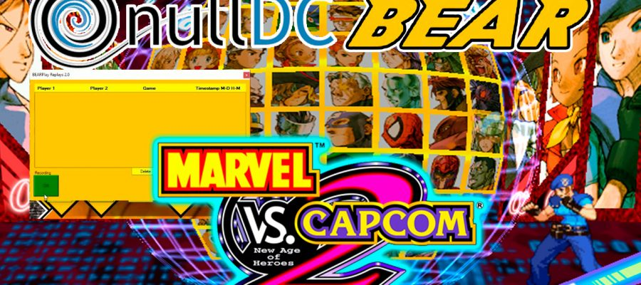 Tutorial en español como jugar MARVEL VS CAPCOM 2 NULL DC BEAR FIGHTCADE 2