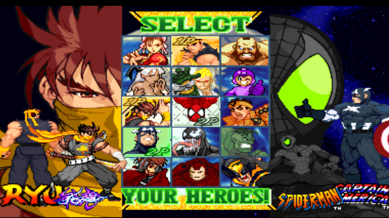 Cómo cambiar de tema MARVEL VS CAPCOM DARK THEM